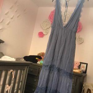 Chelsea & Violet Dresses - Chelsea & Violet Maxi Dress with lace detail